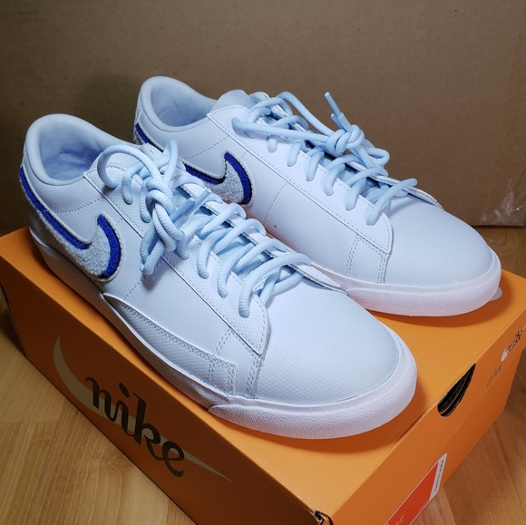 new concept 17a46 ae215 Nike Blazer Low 3D Size 11 Shoes Blue White Mens NWT
